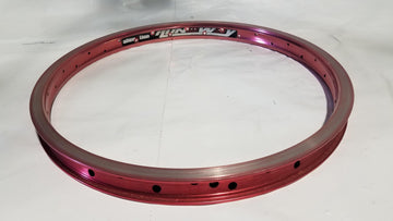 Alienation Runaway BMX Rim - Red / Pink 36H