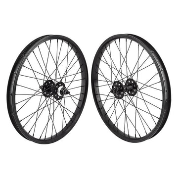 SE Bikes BMX Wheel Set (Black)