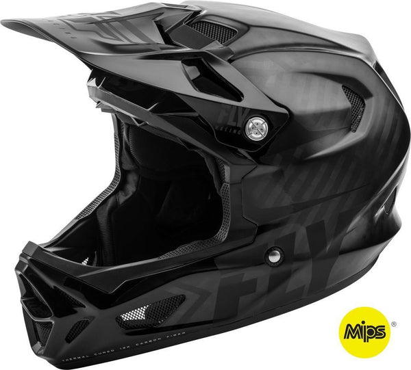 Fly Racing Werx Carbon Imprint Helmet - POWERS BMX