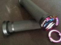 Snafu Lock On bmx racing grips jet fuel - POWERS BMX