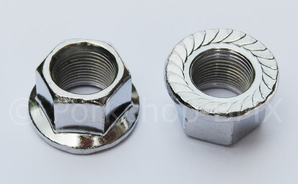 Steel Axle nuts