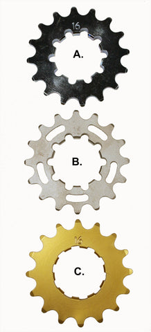 Profile Bmx racing Cogs