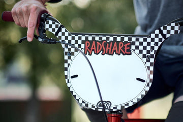 Rad Share x Cheap Seats Racing number plate