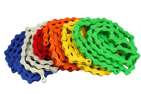 kmc z410 bmx chain colors
