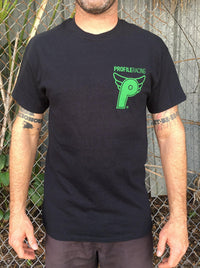 Profile Logo T-Shirt - POWERS BMX