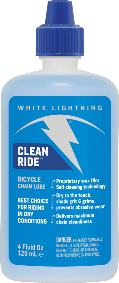 White Lightning clean ride Bike Lubricant - POWERS BMX