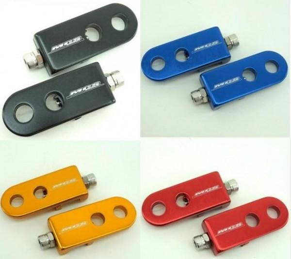 """MCS BMX 3//8/"""" CHAIN TENSIONERS RED"""