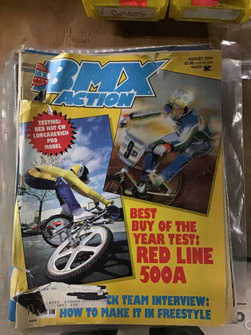 BMX Action magazine Back Issues 1984