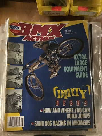 BMX Action magazine back issues 1988