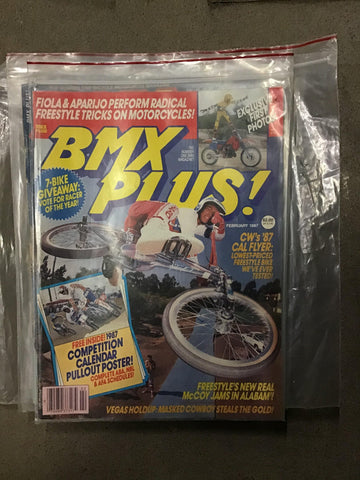 BMX Plus Magazine back issues 1987