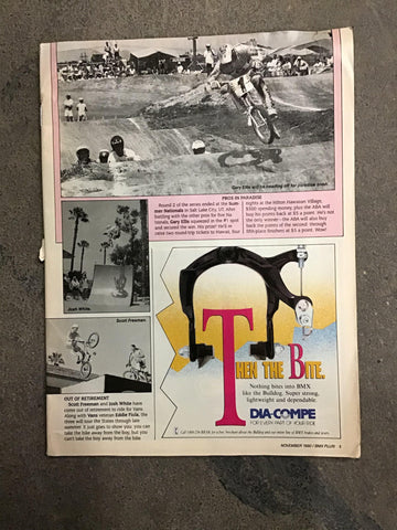 BMX Plus Magazine back issues 1990