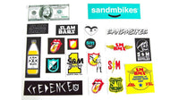 S&M assorted 20 sticker kit - POWERS BMX