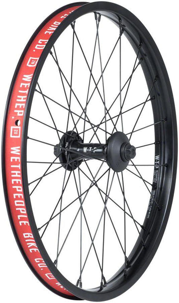 We The People Supreme front bmx wheel