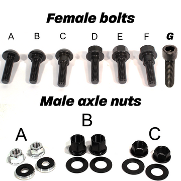 Profile Hub Bolts & Nuts