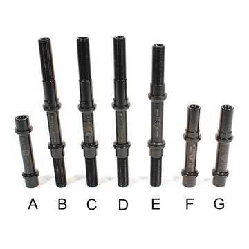 Profile Hub Axles