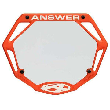 Answer 3D mini number plate