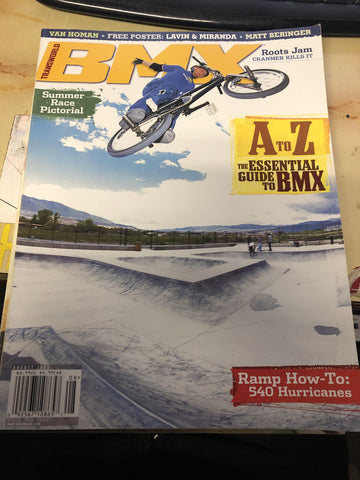 Transworld bmx magazine back issues 2003