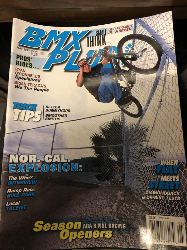 bmx plus magazine back issues 2005 - POWERS BMX