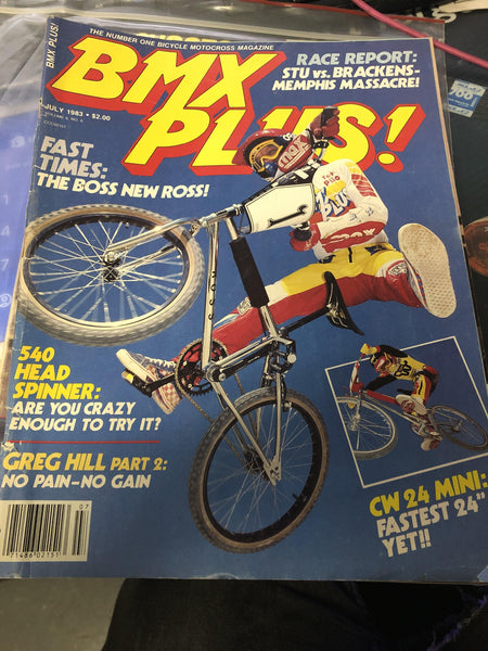 BMX Plus magazine Back issues 1983