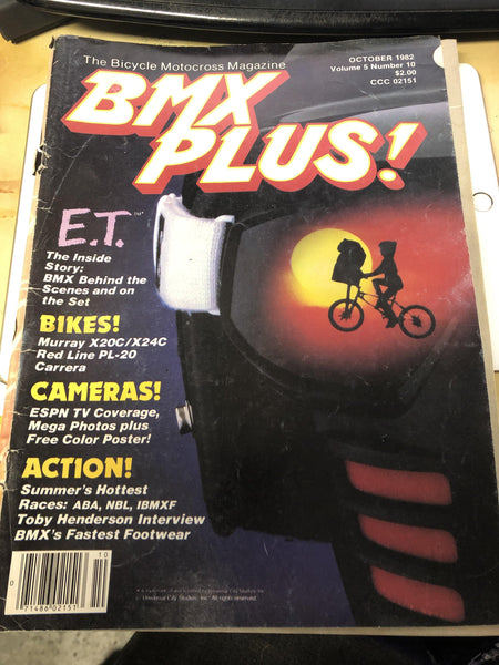 BMX Plus magazine back issues 1982
