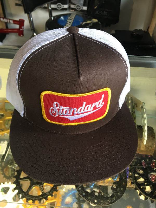 Standard Mesh snap back patch logo - POWERS BMX