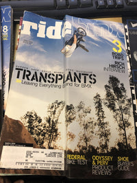 Ride BMX magazine Back issues 2005 - POWERS BMX