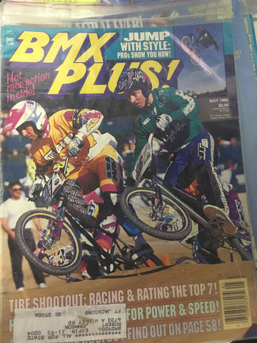 BMX Plus Magazine back issues 1993