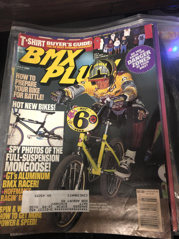 BMX Plus magazine back issues 1995 - POWERS BMX