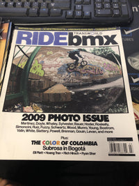 Ride BMX Magazine back issues 2009 - POWERS BMX