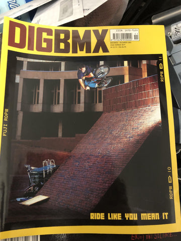 Dig BMX Magazine back issues