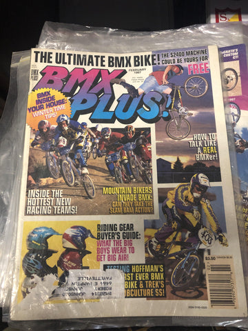 BMX Plus magazine back issues 1997