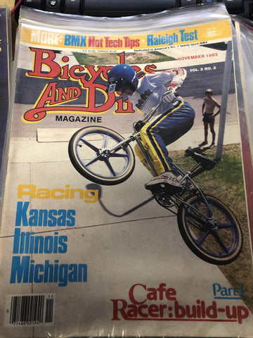 Bicycles and Dirt magazine