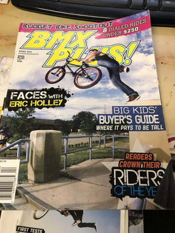 bmx plus magazine back issues 2012