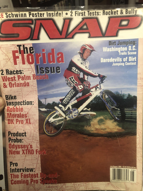 Snap Magazine back issies 1996 - POWERS BMX