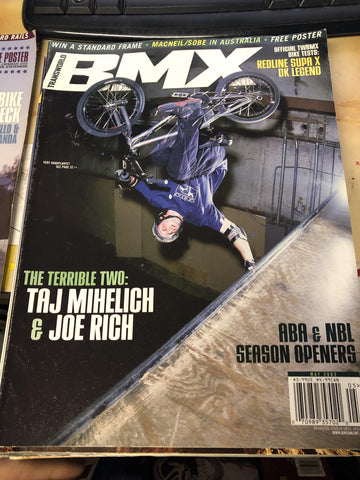 Transworld bmx magazine back issues 2002
