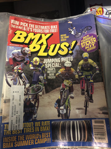 BMX Plus Magazine Back issues 1994