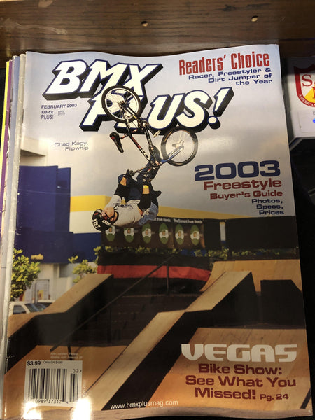 BMX Plus magazine back issues 2004