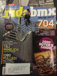Ride Bmx magazine back issues 2007 - POWERS BMX