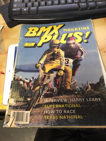 BMX Plus Magazine back issues 1980 july