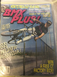 BMX Plus Magazine back issues 1989 - POWERS BMX