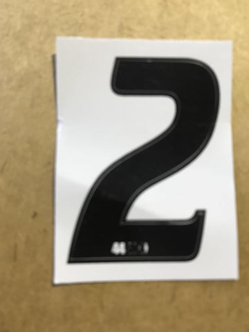 44Bmx side plate Bmx numbers