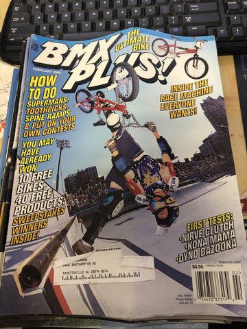 BMX Plus magazine back issues 2000