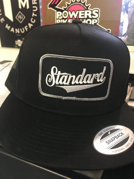 Standard Mesh snap back patch logo