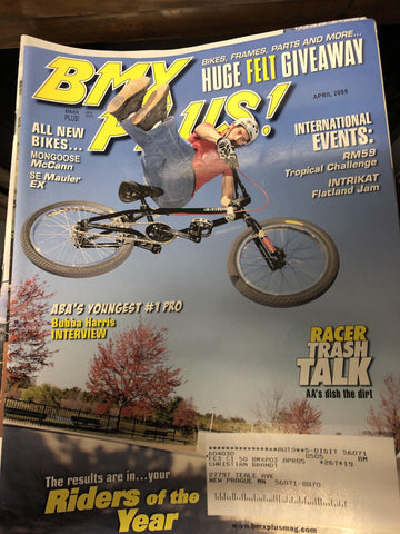 bmx plus magazine back issues 2005