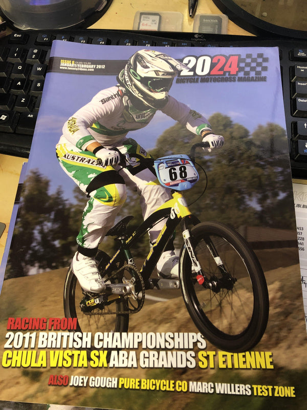 2024 Bicycle Motocross Magazine - POWERS BMX