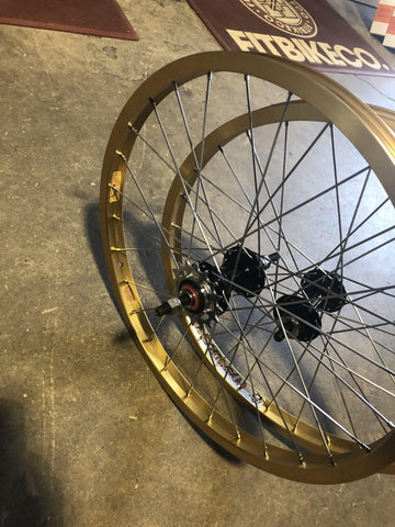 Black Ops Hubs X Alienation Insurgent BMX Rims