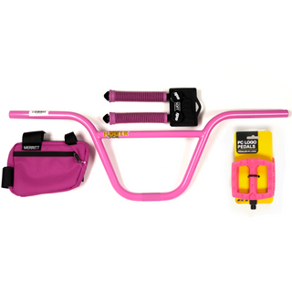 POWER KIT: Pink Pack S&M GT ODI Merrit - Powers Bike Shop