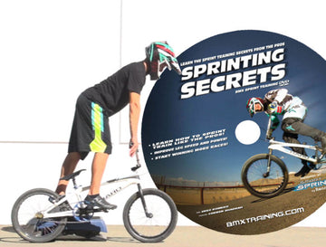Sprinting Secrets training BMX DVD