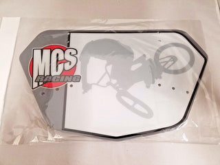 MCS Number Plate - POWERS BMX