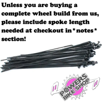 Double Butted BMX spokes pack of 36 - POWERS BMX